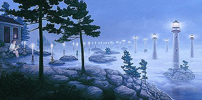 Candlepower by Rob Gonsalves