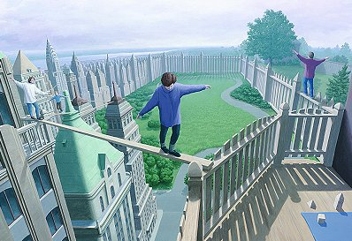 High Park Pickets by Rob Gonsalves - CALL FOR PRICING