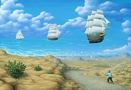 In Search Of Sea by Rob Gonsalves