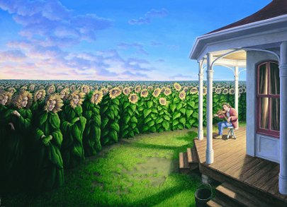 Listening Fields by Rob Gonsalves