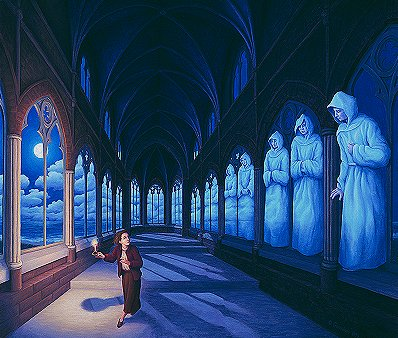 Medieval Moonlight by Rob Gonsalves