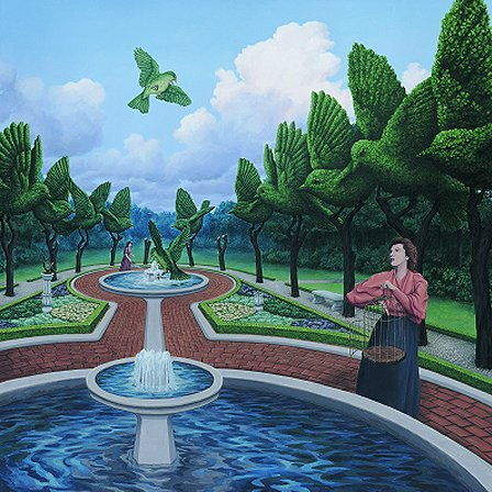 Roots and Wings by Rob Gonsalves
