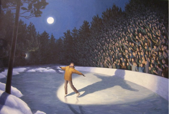 Woodland Arena by Rob Gonsalves
