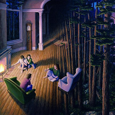 Woods Within by Rob Gonsalves