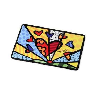 Heart Dog + Cat Mat by Romero Britto 331378