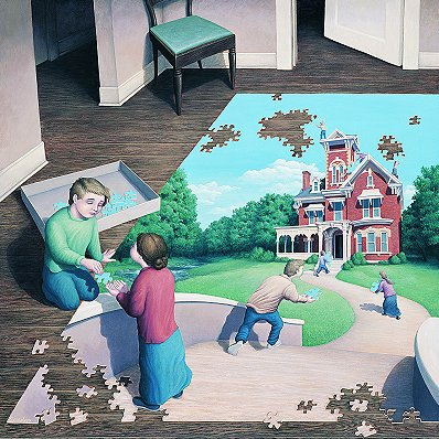 Unfinished Puzzle by Rob Gonsalves