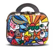 "Garden 12"" Beauty Case by Romero Britto + Heys"