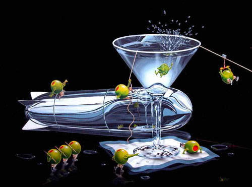 Martini Training by Michael Godard