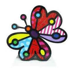 Garden Butterfly Aluminum Sculpture by Britto (CALL FOR PRICING)