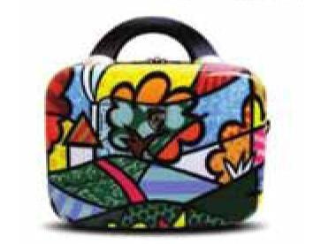 Landscape / Flowers Beauty Case by Romero Britto + Heys