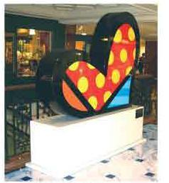 For You - Sculpture by Britto (CALL FOR PRICING)