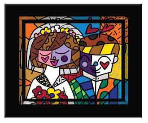 Love by Romero Britto