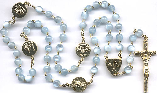 "28""x 7mm ROUND Beads ++++++++++++++++++ Pope John Paul II Center ++++++++++++++++++ SOLD OUT ++++++++++++++++++ Item# 10-1-1708B"