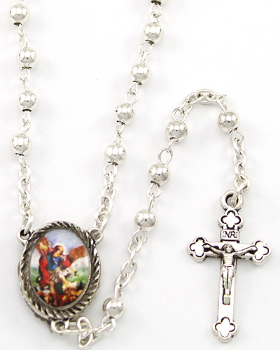 "20""x 4mm ROUND ++++++++++++++++++ St. Michael Center ++++++++++++++++++ SOLD OUT ++++++++++++++++++ Item# RM-6-1410"
