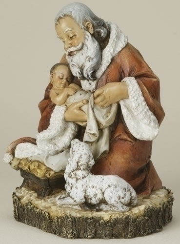 "11-1/2"" Kneeling Santa Price includes shipping $69.00  ++++++++++++++++++ Item# 36935"