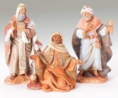 "5"" Three Kings Set +++++++++++++++++ $69.95 ++++++++++++++++++ Price includes shipping ++++++++++++++++++ Item# 71187"