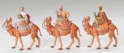 "5"" Three Kings on Camels Set +++++++++++++++++ $137.95 ++++++++++++++++++ Price includes shipping ++++++++++++++++++ Item# 71514"