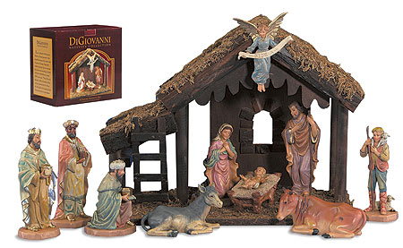 10 Piece Nativity Set (#3)