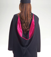 Master's Premium Cap Gown Tassel and Hood Package