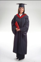 Deluxe Bachelor Package - Gown Hood Mortarboard