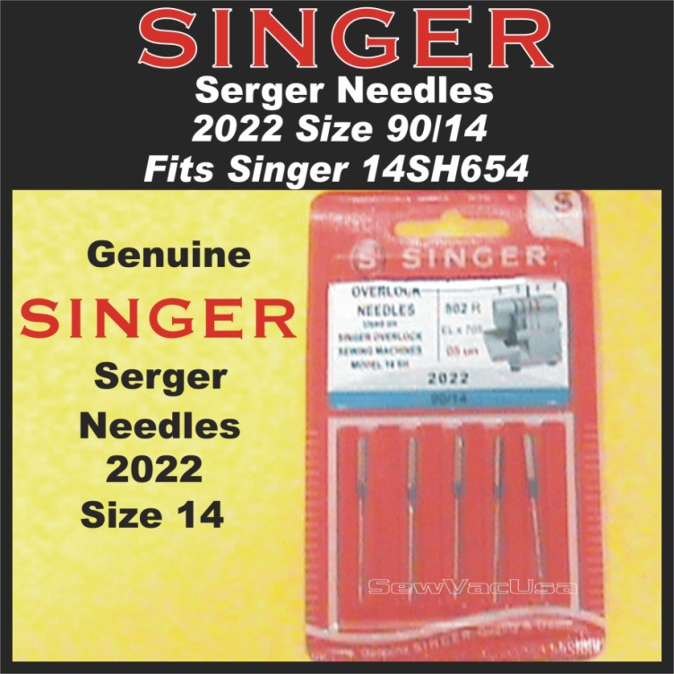 2022 Size 14 Singer Serger Needle Fits 14SH654