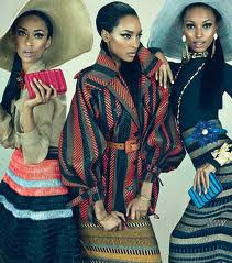 Beauty and Fashion: Power Dressing - African American Style