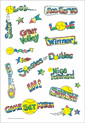 HSTK-TENNIS - Sticky Sentiments Stickers
