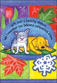 P3409 - Pet Loss Cards