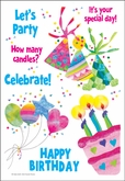HSTK-BIRTHDAY - Sticky Sentiments Stickers