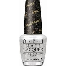 OPI Liquid Sand Textured, Matte Nail Polish - Solitaire NLM49