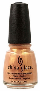China Glaze Nail Polish, Golden Meringue 072
