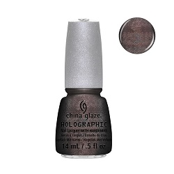 China Glaze Nail Polish, Galactic Gray 1209