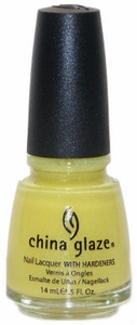 China Glaze Nail Polish, Sunshine 814