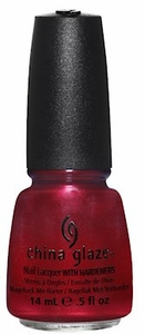 China Glaze Nail Polish, Cranberry Splash 1110