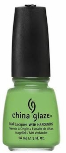 China Glaze Nail Polish, Gaga For Green 1033