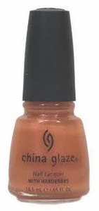 China Glaze Nail Polish, Glowing Orange CGN05