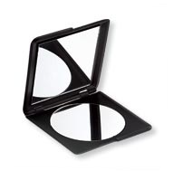 TBC Squared Double Mirror Compact, Black