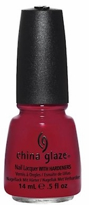 China Glaze Nail Polish, Red Satin 1111