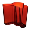 Iittala Aalto Flaming Red Vases