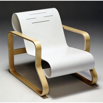 Artek Alvar Aalto - Paimio Scroll Chair 41 - Click to enlarge