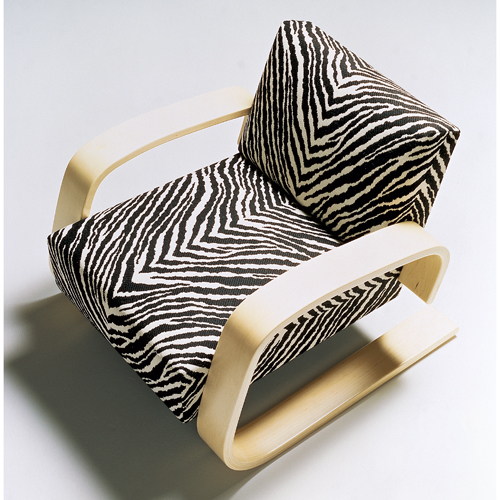 Superbe Artek Alvar Aalto   Lounge Chair 400   Zebra Upholstery   Click To Enlarge