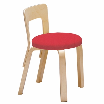 Artek Alvar Aalto - Children's Chairs N65 - Upholstered Seat - Click to enlarge
