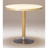 Artek Alvar Aalto - Large Pestal Table P90B - Chrome Base