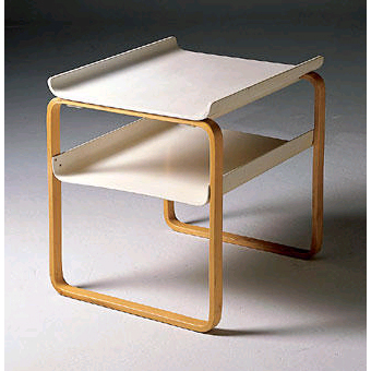 Artek Alvar Aalto   Side Table 915   Click To Enlarge