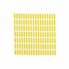 Artek Aalto Siena Cotton Napkin - White/Yellow Blocks