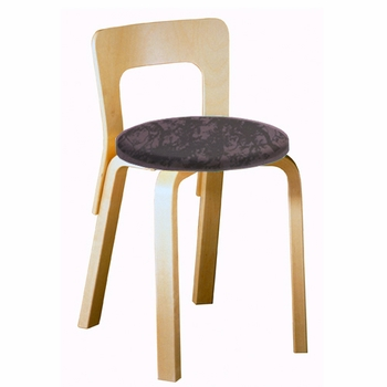 Artek Alvar Aalto - Low Back Chair 65 - Your Own Fabric - Click to enlarge