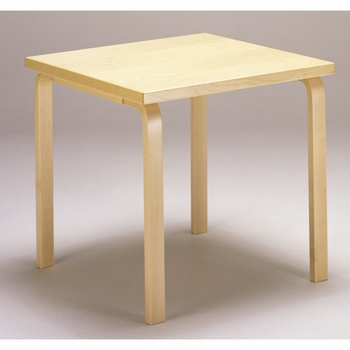 Captivating Artek Alvar Aalto   Small Square Table 81C   HL1 Leg   Click To Enlarge