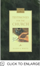TESTIMONIES FOR THE CHURCH