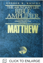 Bible Amplifier - Matthew (Hc)