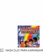 ALABANZAS INFANTILES - CD
